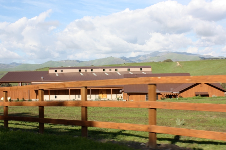 The new solar-powered winery & tasting room at 7600 Foxen Canyon Road