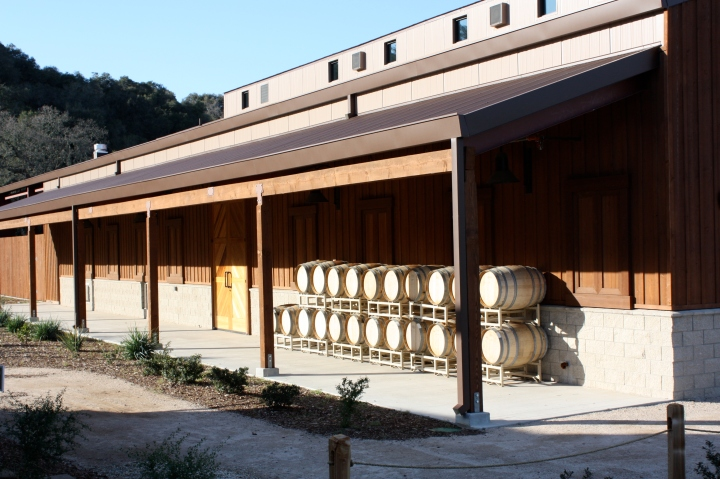 The new FOXEN winery