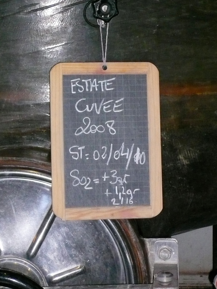 '08 Estate Cuvee...