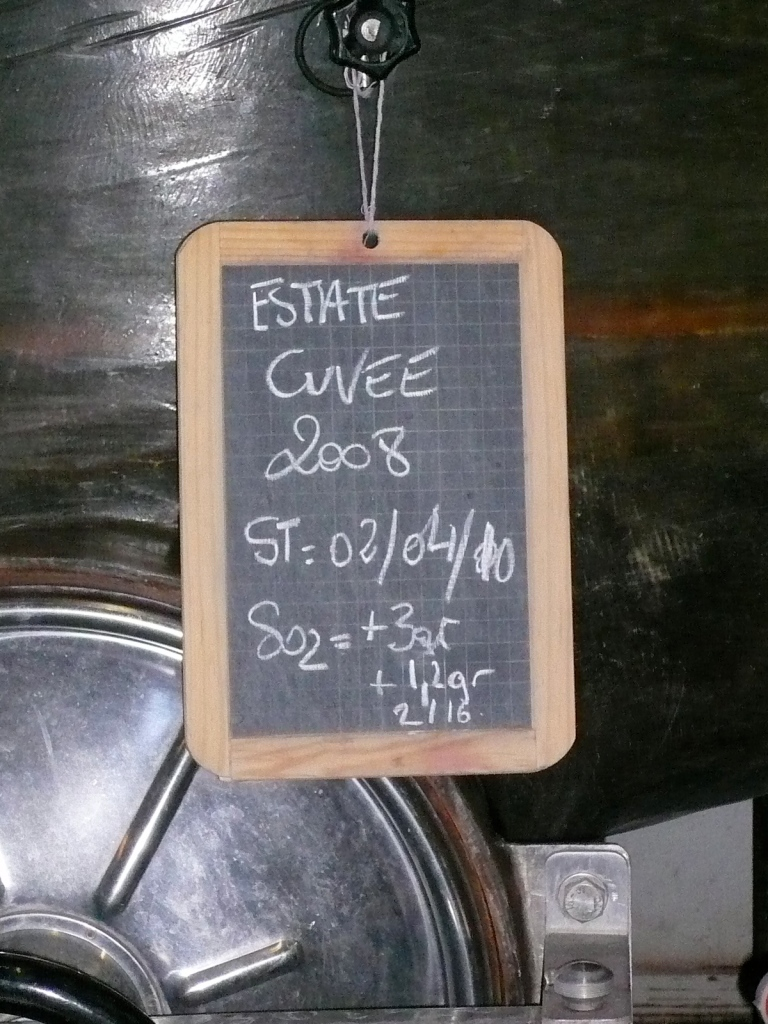 '08 Estate Cuvee...