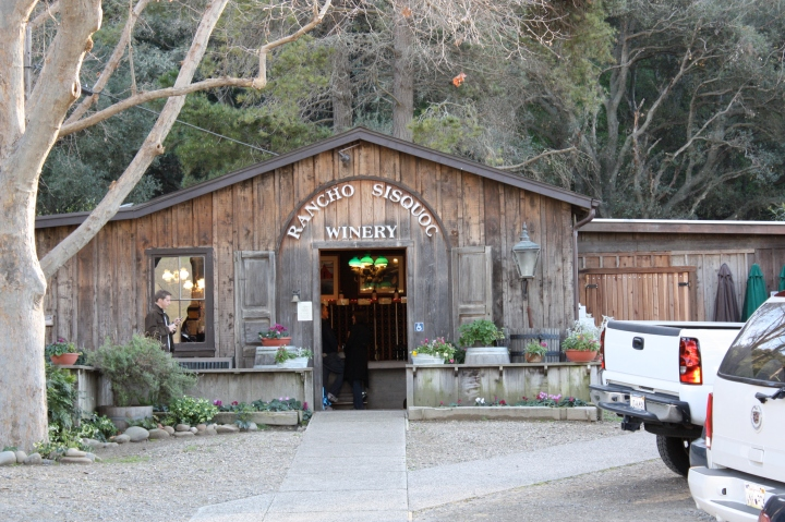 Rancho Sisquoc Winery tasting room