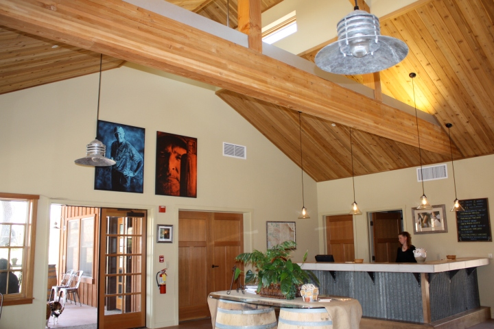 Foxen's solar powered tasting room