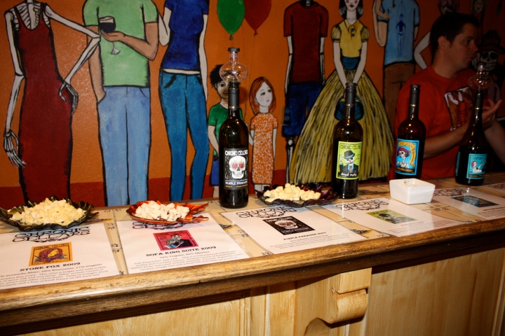 Wine & cheese at the Connoisseurs' Club summer event