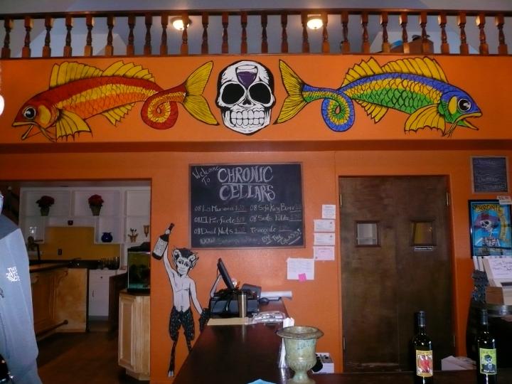 Chronic Cellars tasting room