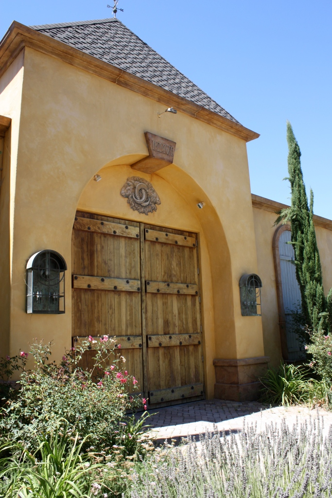 The front of the Demetria Estate Winery & Tasting Room