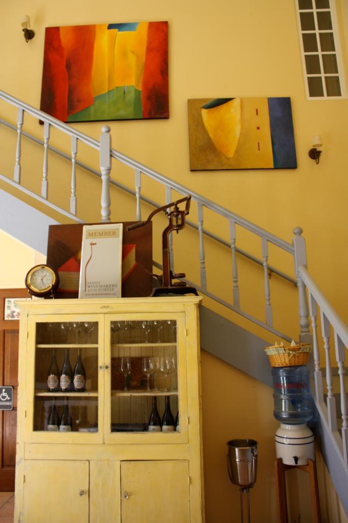 Inside the Demetria tasting room