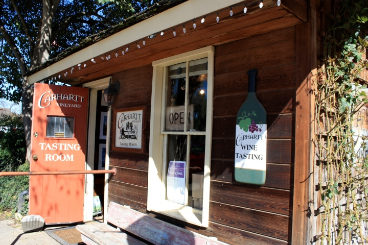 Carhartt Vineyard Tasting Room
