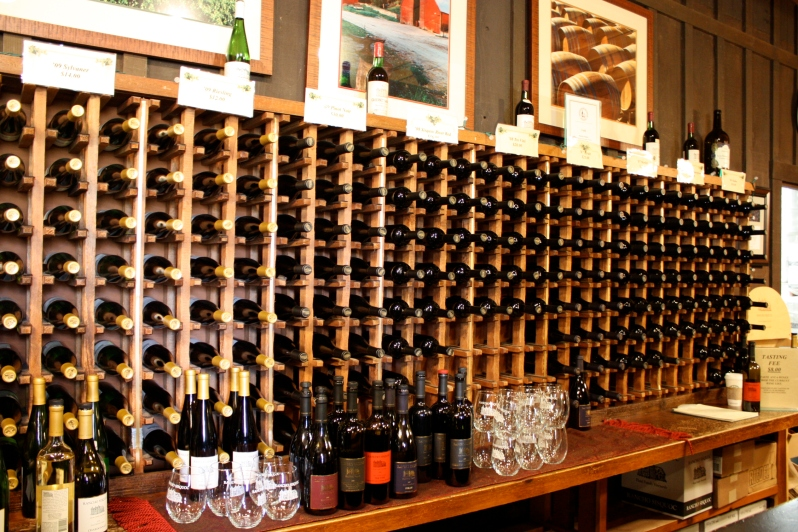 The wide variety of wines at Rancho Sisquoc