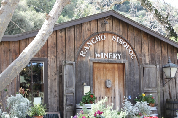 The Rancho Sisquoc Winery tasting room