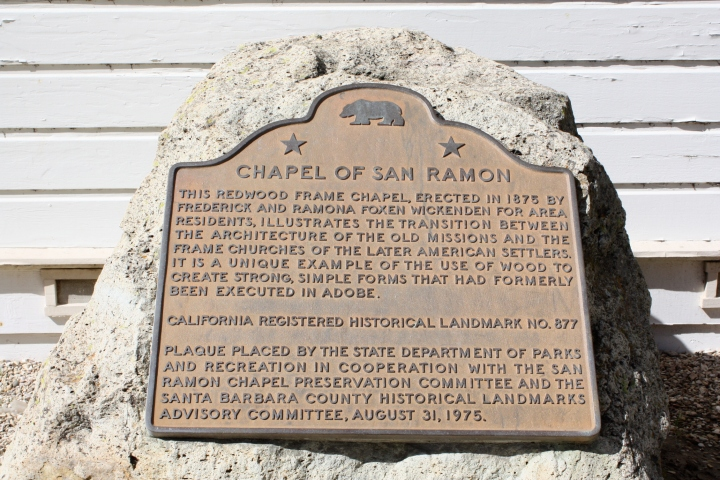 History of the San Ramon Chapel