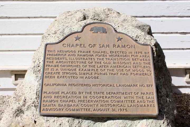 History of the San Ramon Chapel