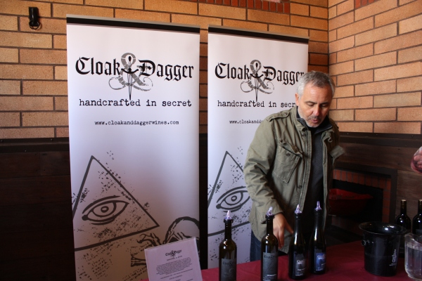 Ray Schofield of Cloak & Dagger Wines