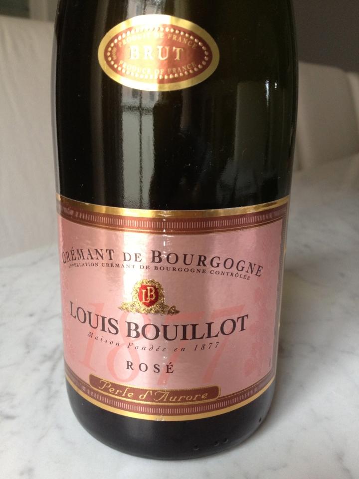 """Louis Bouillot Cremant de Bourgogne Sparkling Rosé """"Perle d'Aurore"""""""