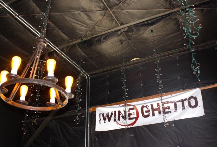 Inside the Jalama Wines tasting room