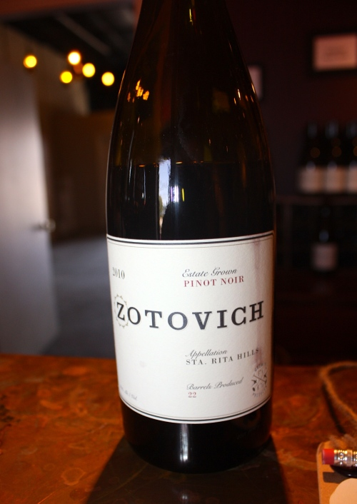 Delicious Zotovich Cellars 2010 Estate Grown Pinot Noir