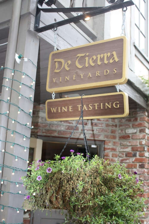 De Tierra Vineyards tasting room