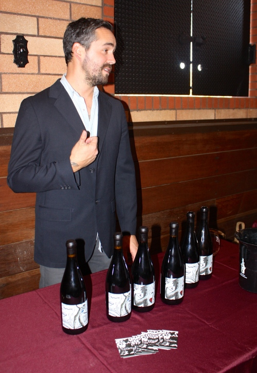 Winemaker Orion Stang of Dilecta Wines