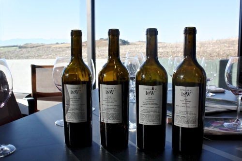 The current Law Estate Wine portfolio