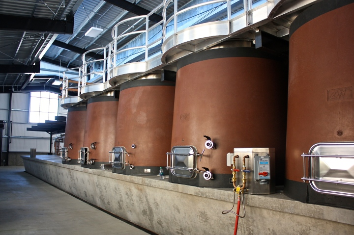 State of the art fermentation tanks
