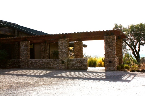 Entry to Gary Farrell Vineyards & Winery