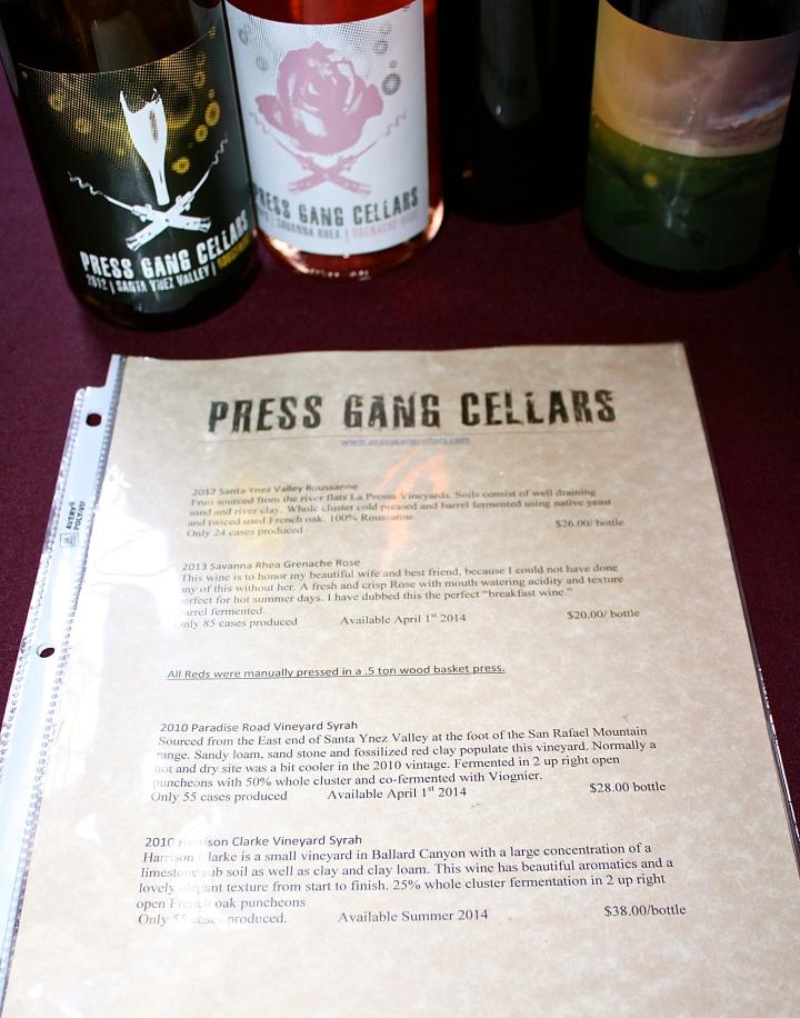 Press Gang Cellars