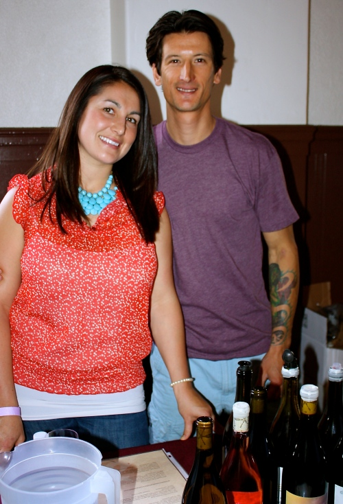 Kyle & Savanna Knapp of Press Gang Cellars