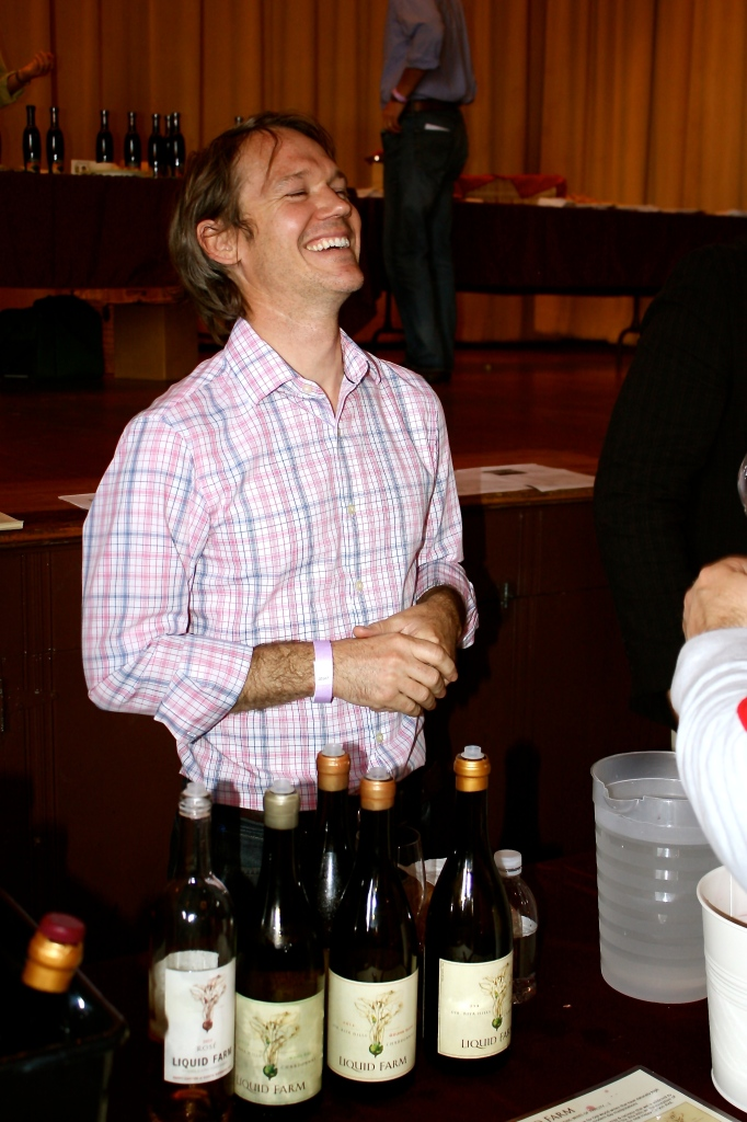 Liquid Farm's Winemaker, James Sparks