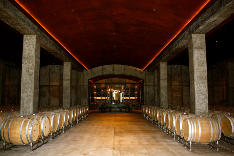 Law Estate Wines - Aging Room