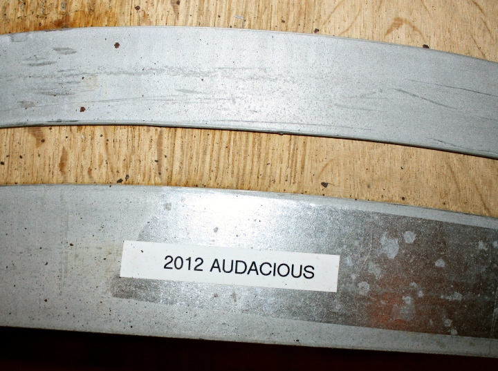 Law Estate Wines - Aging the 2012 AUDACIOUS (one of my personal favorites)