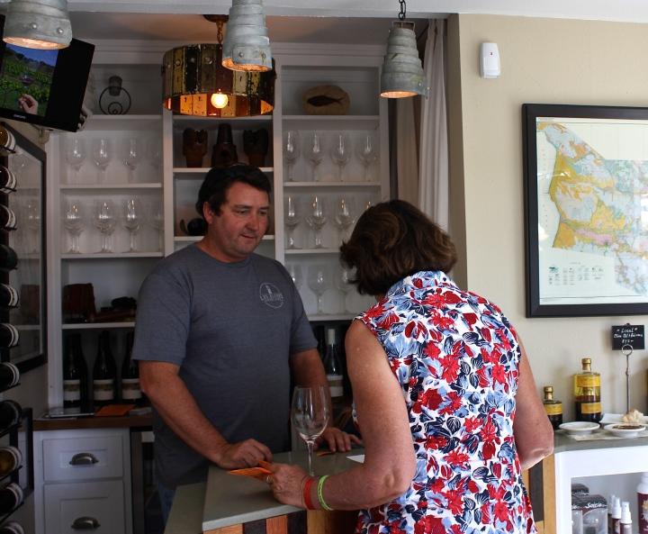 Michael Larner at Larner Wines in Los Olivos, CA