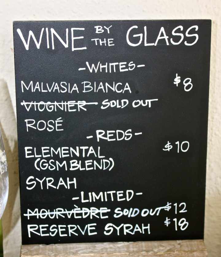 Larner Wines available by the glass