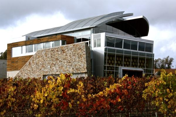 The stunning Williams Selyem winery