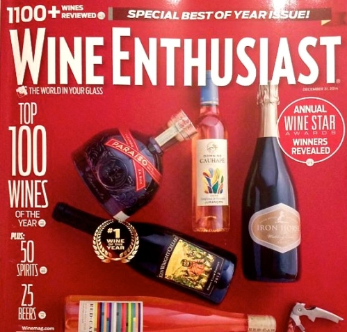 Wine Enthusiast Magazine - The Enthusiast 100 of 2014