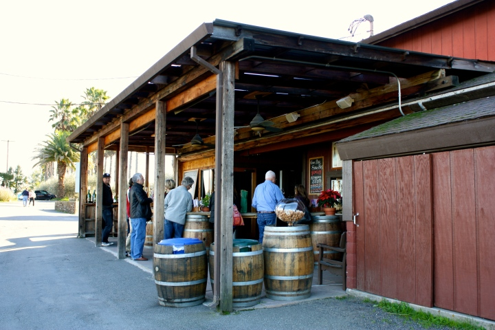 Iron Horse Vineyards tasting bar