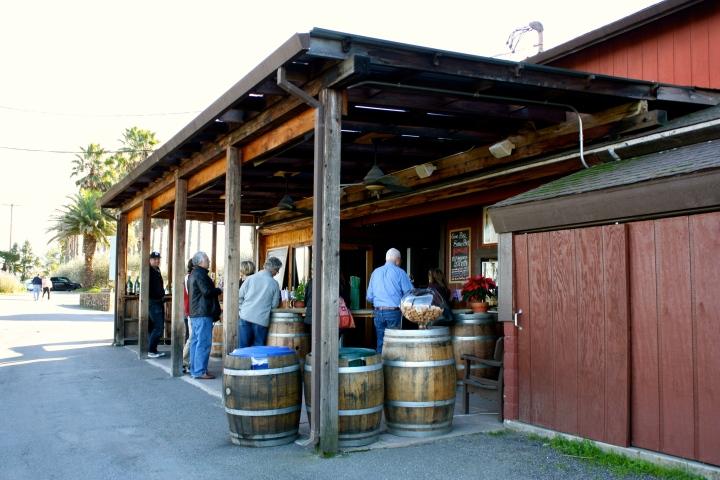Iron Horse Vineyards tasting bar