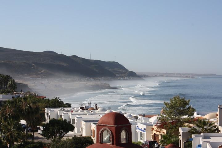 Baja coastline near La Fonda