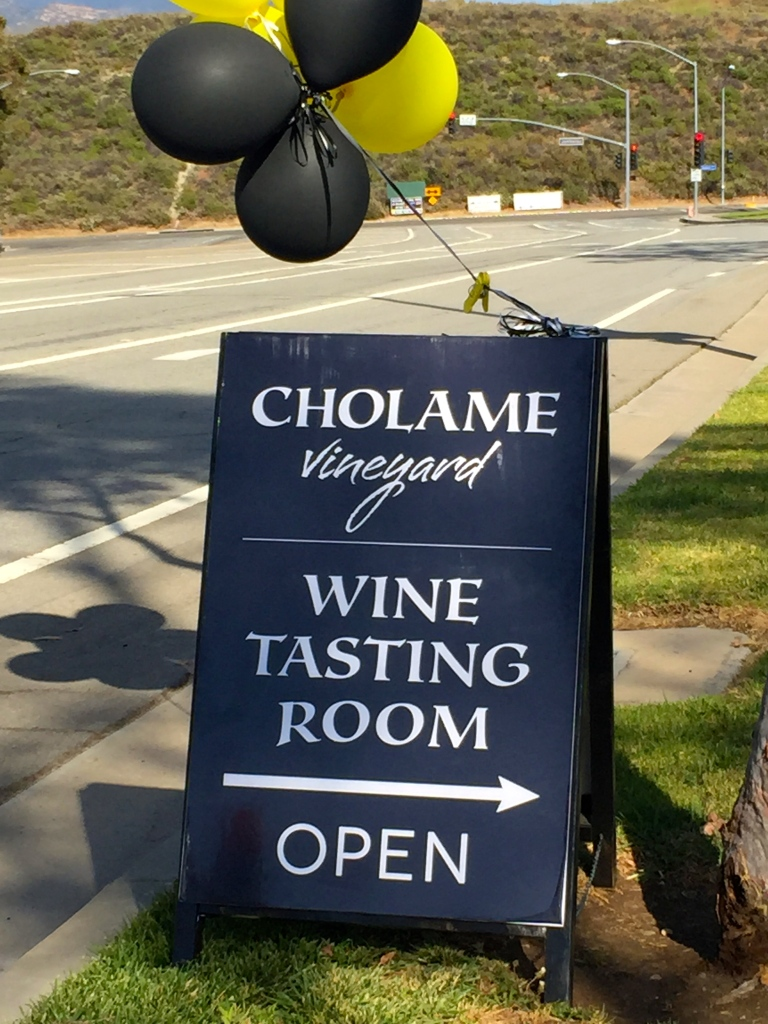 Cholame Vineyard Wine Tasting Event in Orange, CA