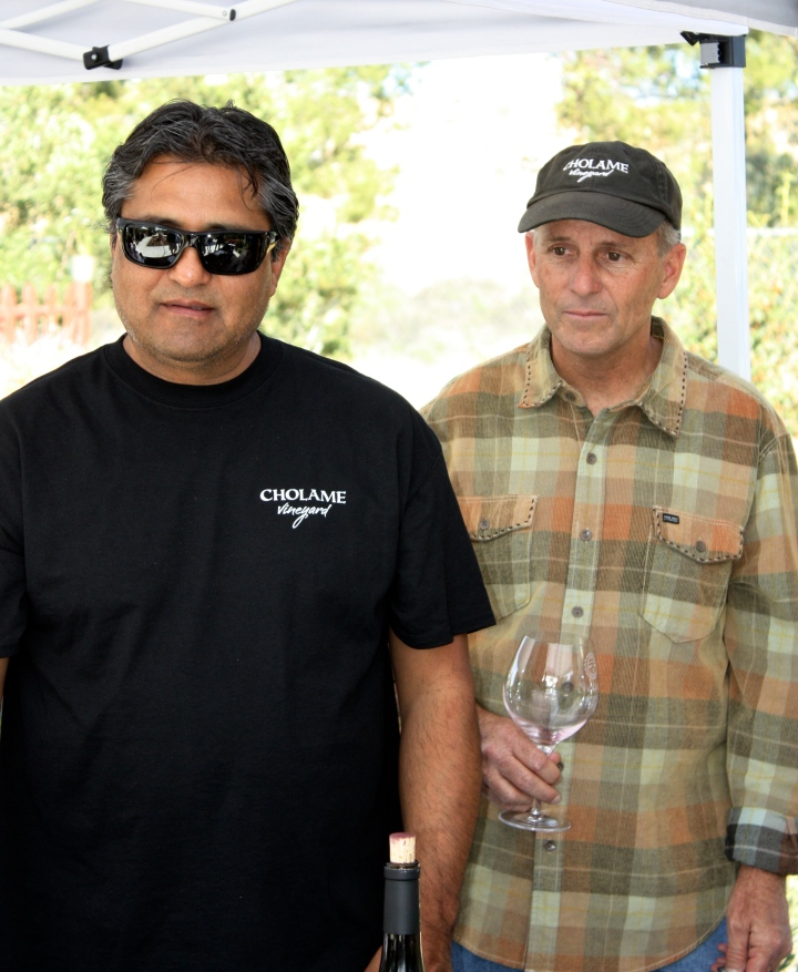 Winemaker Andres Ibarra & Vintner David DuBois