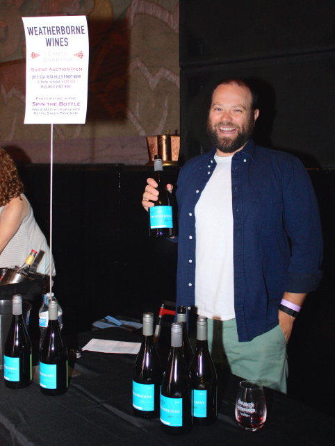 Cris Carter of Weatherborne Wine Corp.